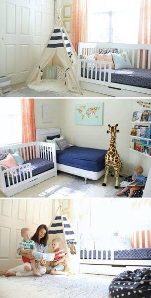 Детская комната для двоих детей фото 07