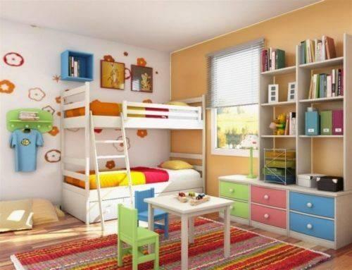 Детская комната для двоих детей фото 10