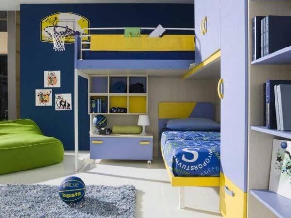 Детская комната для двоих детей фото 14