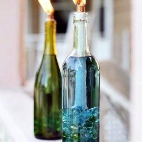 Поделки из бутылок фото 13