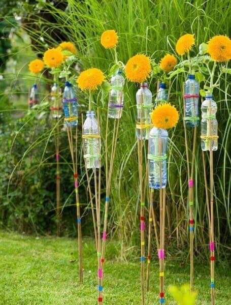 Поделки из пластиковых бутылок для детского сада фото 01