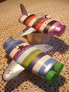 Поделки из пластиковых бутылок для детского сада фото 05
