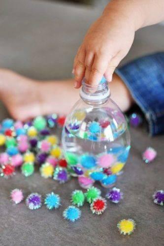 Поделки из пластиковых бутылок для детского сада фото 13