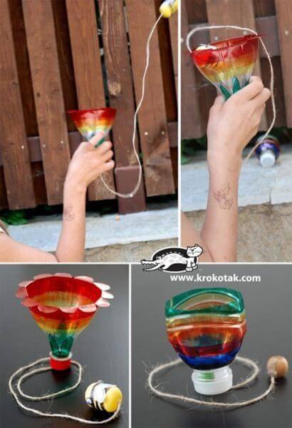 Поделки из пластиковых бутылок для детского сада фото 22