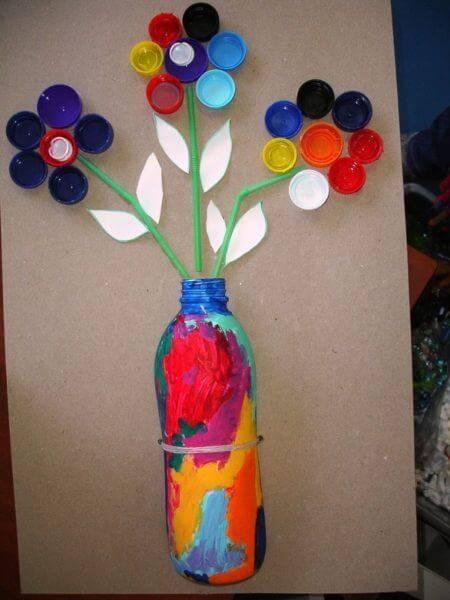 Поделки из пластиковых бутылок для детского сада фото 31