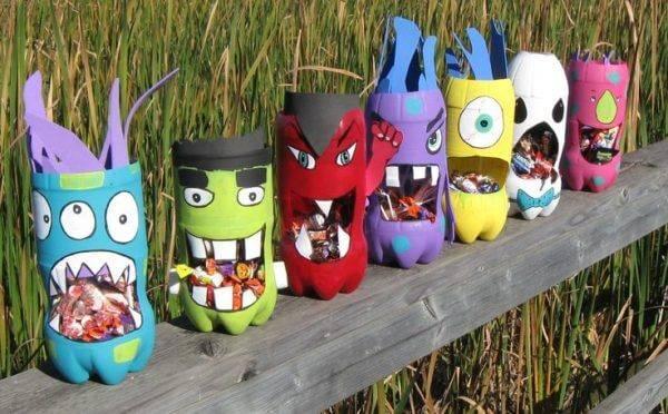 Поделки из пластиковых бутылок для детского сада фото 32