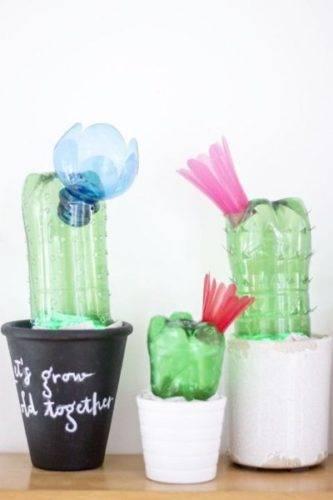 Поделки из пластиковых бутылок фото 27