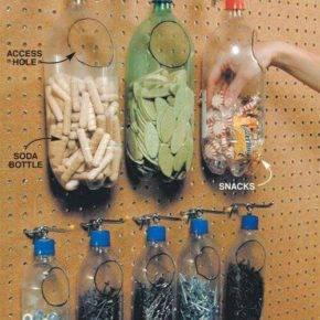 Поделки из пластиковых бутылок фото 19