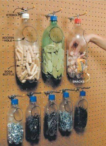 Поделки из пластиковых бутылок фото 4