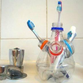 Поделки из пластиковых бутылок фото 22