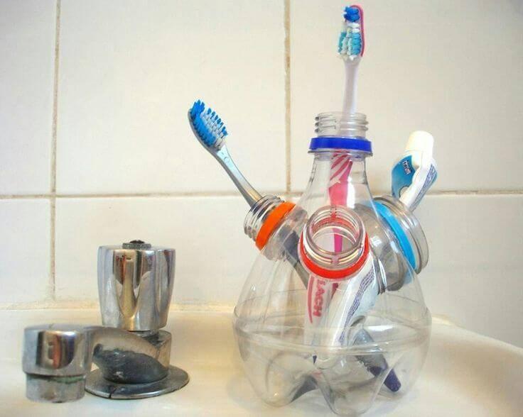 Поделки из пластиковых бутылок фото 5