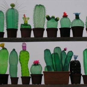 Поделки из пластиковых бутылок фото 31