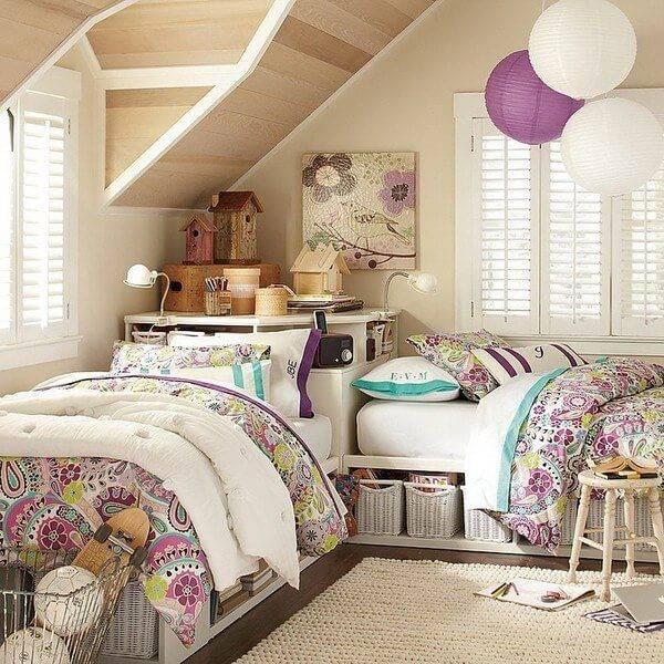 Детская комната для двоих детей фото 18