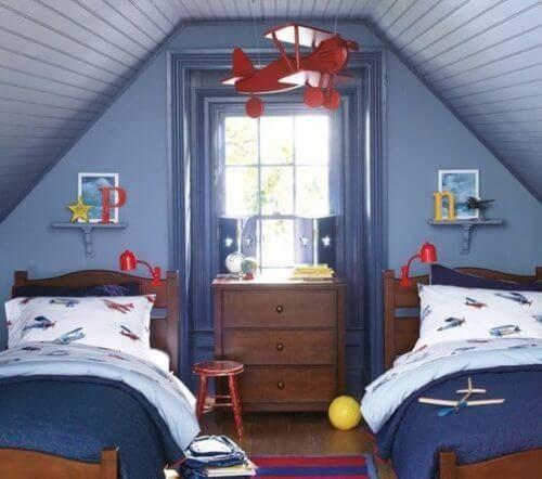 Детская комната для двоих детей фото 19