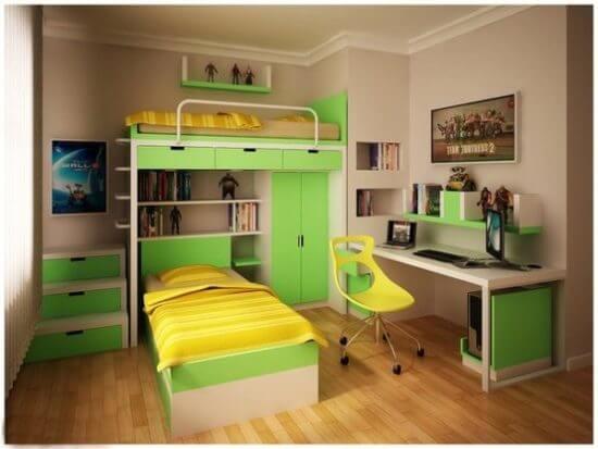 Детская комната для двоих детей фото 20