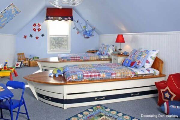 Детская комната для двоих детей фото 21