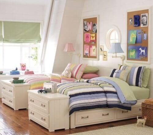 Детская комната для двоих детей фото 16