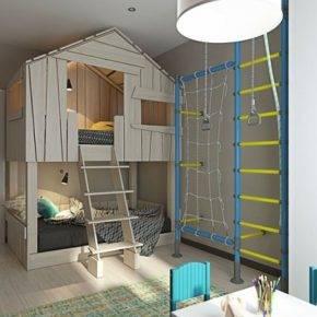 детская комната для мальчика фото 04