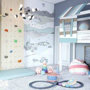 children's room for boy photo 16