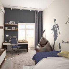 детская комната для мальчика фото 24