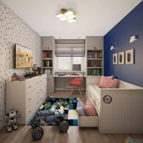 детская комната для мальчика фото 40