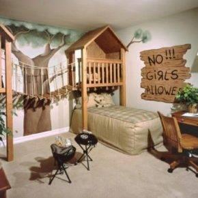 children's room for boy photo 53
