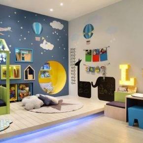 детская комната для мальчика фото 67