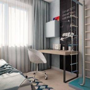 детская комната для мальчика фото 73
