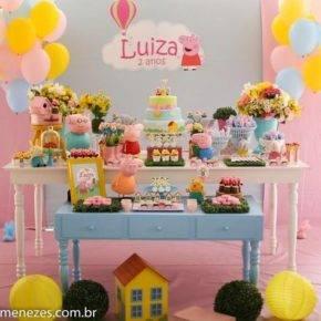 Детский день рождения свинка Пеппа фото 02