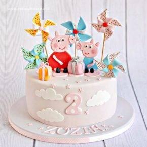 Детский день рождения свинка Пеппа фото 05