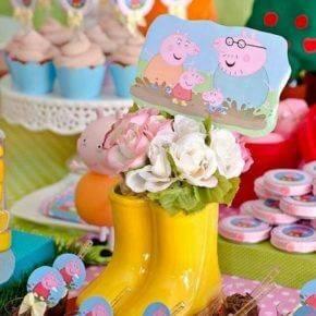 Детский день рождения свинка Пеппа фото 10