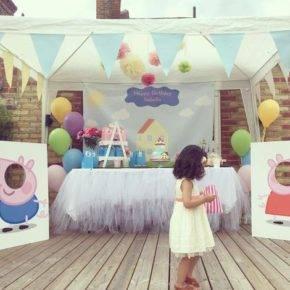 Детский день рождения свинка Пеппа фото 12