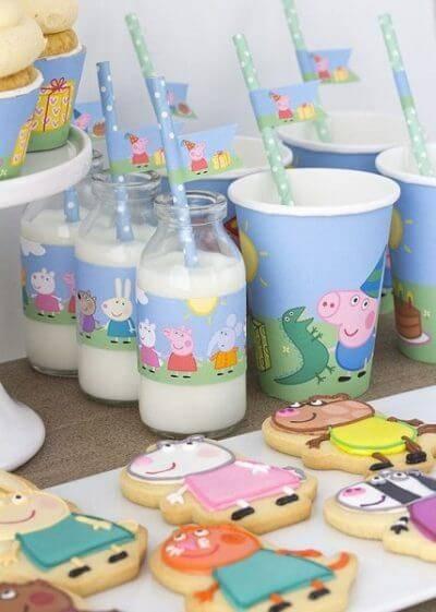 Детский день рождения свинка Пеппа фото 13