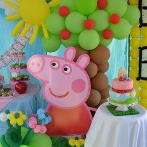 Детский день рождения свинка Пеппа фото 14
