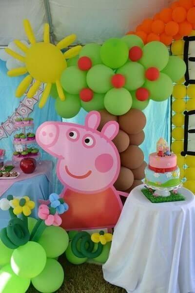 Детский день рождения в стиле Свинка Пеппа: идеи оформления с фото