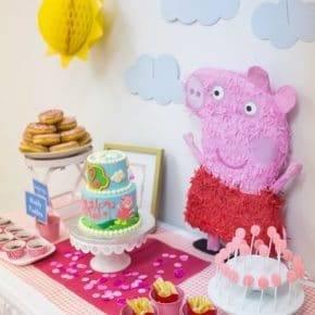 Детский день рождения свинка Пеппа фото 22