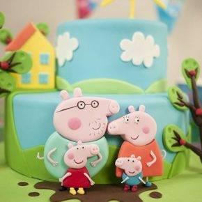 Детский день рождения свинка Пеппа фото 53