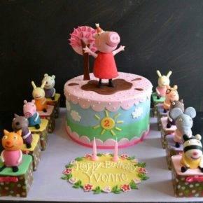 Детский день рождения свинка Пеппа фото 56