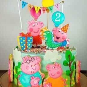 Детский день рождения свинка Пеппа фото 57