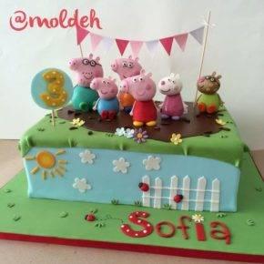 Детский день рождения свинка Пеппа фото 59