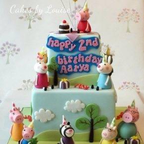 Детский день рождения свинка Пеппа фото 62
