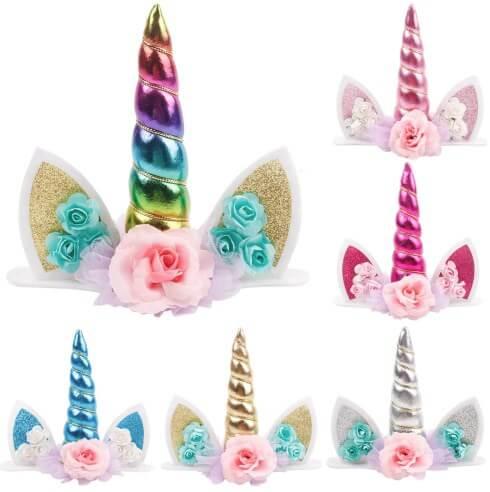 baby birthday unicorns photo 1