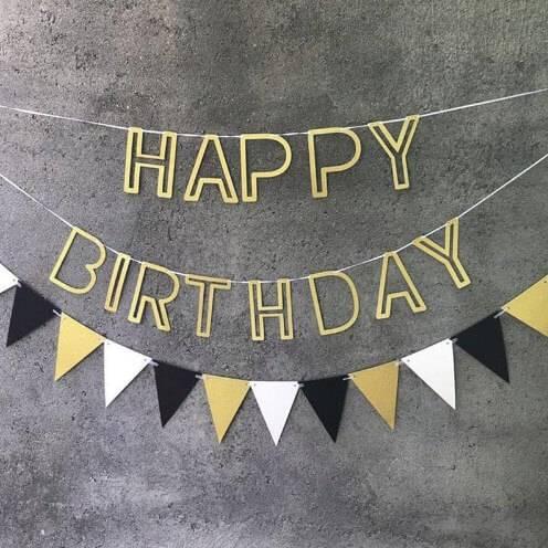 гирлянда на день рождения фото 1