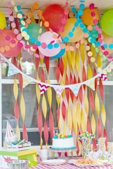 Как украсить комнату на день рождения фото 09