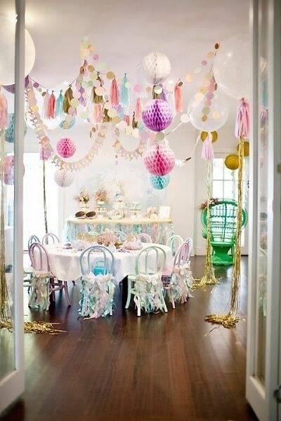 Как украсить комнату на день рождения фото 17