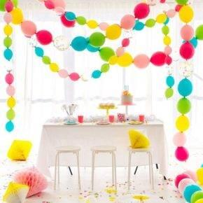Как украсить комнату на день рождения фото 21