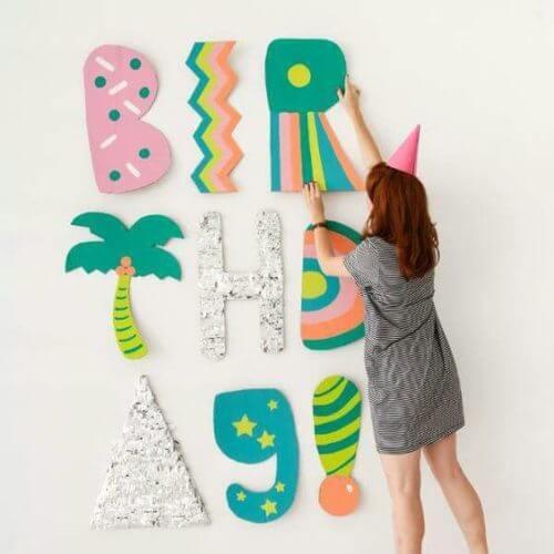 Как украсить комнату на день рождения фото 28