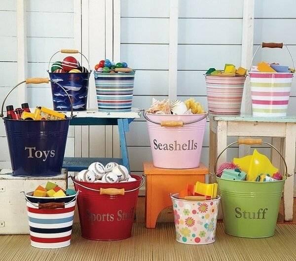 Корзина для игрушек фото 23