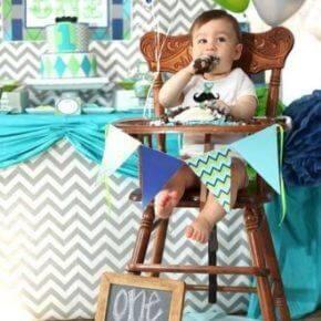Оформление день рождения 1 год своими руками фото 41