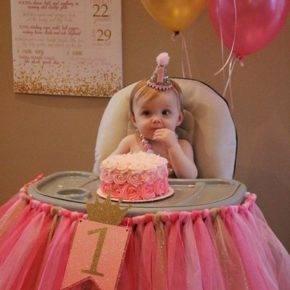 Оформление день рождения 1 год своими руками фото 42